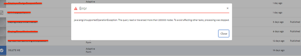 Forms Delete Error MessaGE.PNG