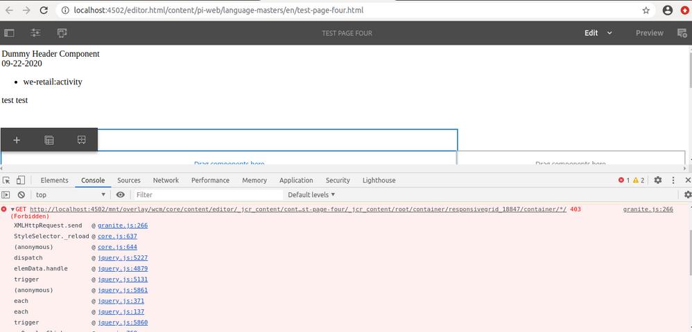 granite-error-on-get-request-authoring.png