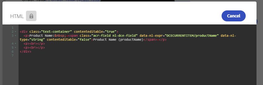 step 2 - HTML code of product list-product name personalization fields.png