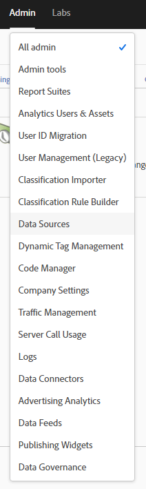 Analytics Admin menu.PNG